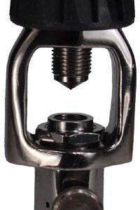 Standard SCUBA Yoke with Bleed Screw