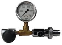 DIN w/ gauge and valve