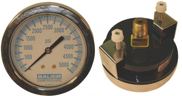 """""""S"""" Panel Mount 0-7500 psi gauge"""