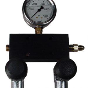 Standard SCUBA 5 Port Fill Manifold System