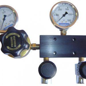 Regulated SCBA 5 Port Fill Manifold System