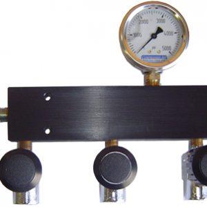 Regulated SCBA 7 Port Fill Manifold System