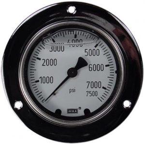 Panel Mount 0-7500 psi Gauge
